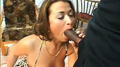Stunning Czech girl gives her perky ass up for rough anal slamming