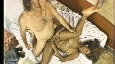 Horny black hooker needs some white meat in her warm wet pussy