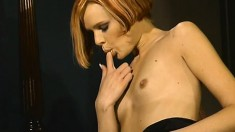 Hannah Harper gets naked and enjoys some rough doggystyle action