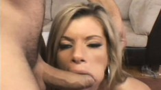 Awesome long-haired babe gets her mature pussy penetrated deeply