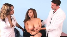 Stacked beauty gets unforgettable and astounding tit-fucking experience