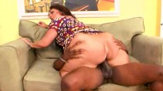 Carmeliata Lopez is one big Latina MILF who likes it black and hard