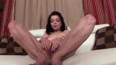 Jessi Palmer enjoys giving her hung man pleasure by sucking his prick