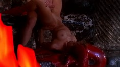 Anna Romeo gives in to temptation and gets her bunghole worked