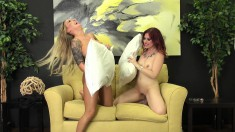 Jessica Ryan sensually drives Alexia Vosse's fiery snatch to pleasure