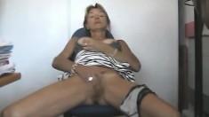 Mature Orgasm Wife Masturbation Webcam