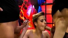 Orgies with cums anal and oral on slut ria sunn