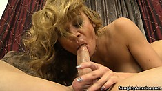 Mia Lelani rides his cock getting her ass pounded in the process