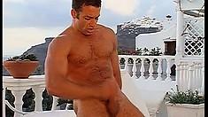 Renato Bellagio and Luciano Endino enjoy their gay European getaway