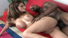 Joslyn James is eager to taste a black man's impressive prick