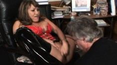 Voluptuous Asian Milf In Lingerie Gets Her Pussy Tongued And Fingered