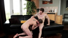 Cock-hungry Gay Guy Presley Wright Enjoys Some Intense Gay Action