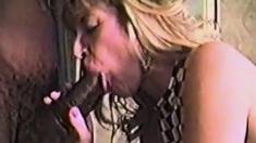 Vintage Interracial Porn Big Black Delivery