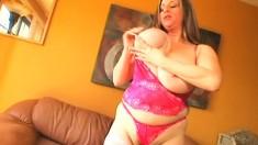 Interracial fuck cumshot on boobs