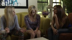 Reality Kings Sexy Threesome With Blonde And Brunette