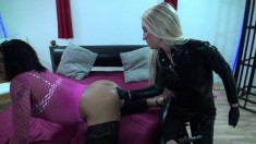Light Femdom And Foot Fetish Play With Brunette