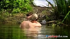 Voyeur At The Lake