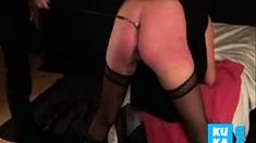 Good Punishement For My Submissive Slut. Amateur Homemade