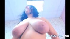 big tits hanging and shaking