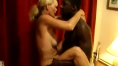 Mature Wife Uses Young Black To The Limit