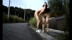 Jap Couple Outdoor Fuck (p1)