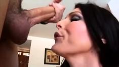 Cum For Cover Facial Cum Bukkake With Mel And Four Big Cocks
